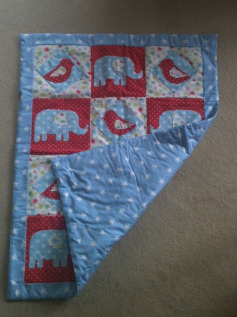 Cath Kidston inspired baby\'s cot quilt | lorensew
